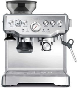 Breville-BES870XL-Barista-Express-brushed-stainless-steel-body
