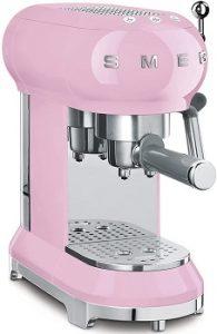 Smeg-ECF01RDUS-espresso-machine-pink-color-chic-italian-style