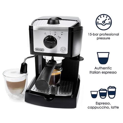 Delonghi EC155 Espresso and Cappuccino maker.